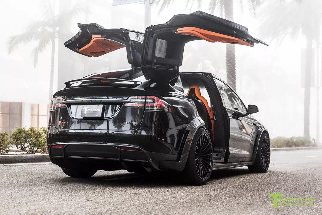 买了电动车就与改装无缘了?看看这台特斯拉Model X