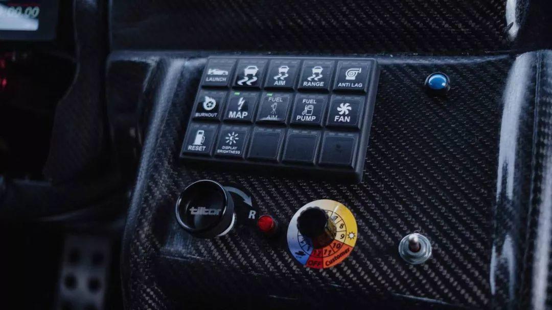 专为爬山赛打造的GT-R,奇葩的造型下竟还藏着恐怖的1600马力