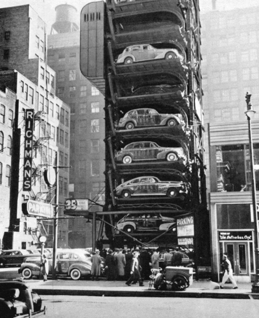车趣 各种脑洞大开的魔幻现实主义停车楼
