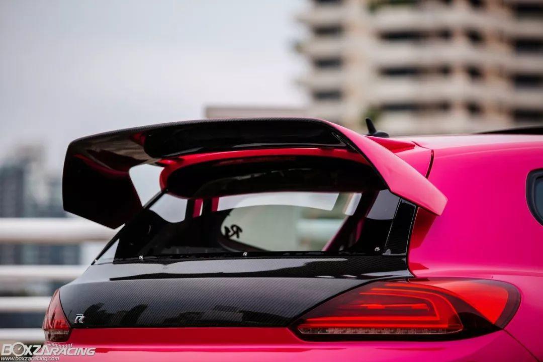 表面看着粉粉嫩嫩的尚酷,背地里却是不折不扣的赛道利器